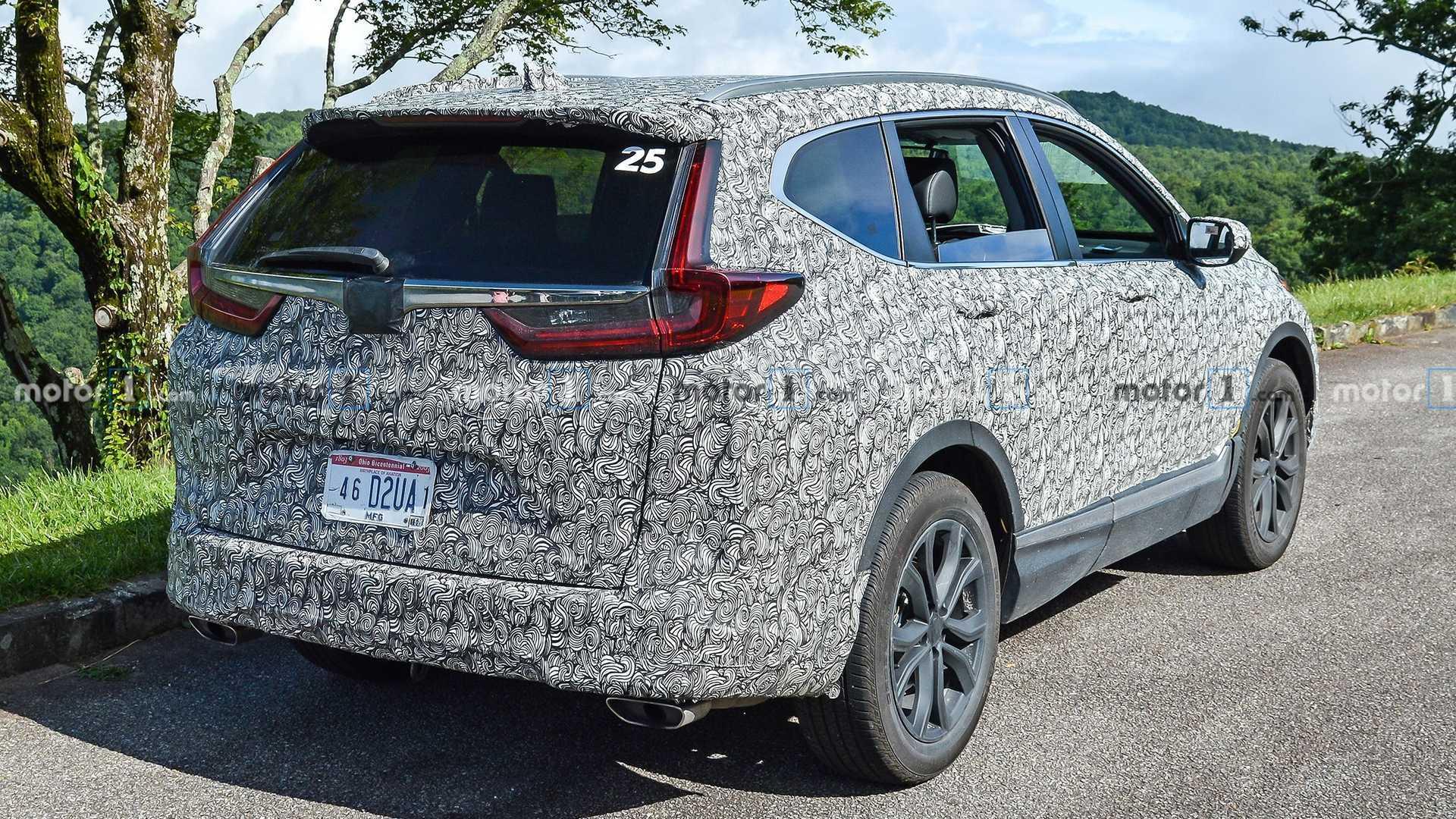 2020 Honda CR-V Facelift Spied For The First Time