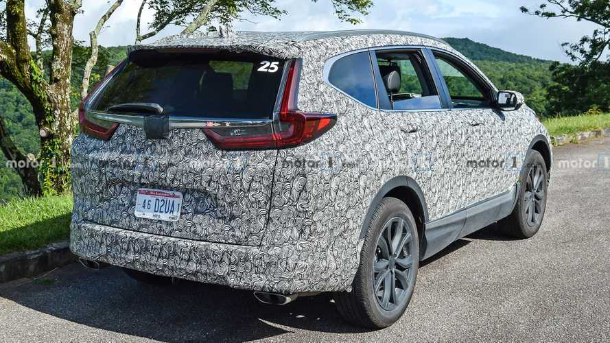 Flagra: Honda CR-V 2020