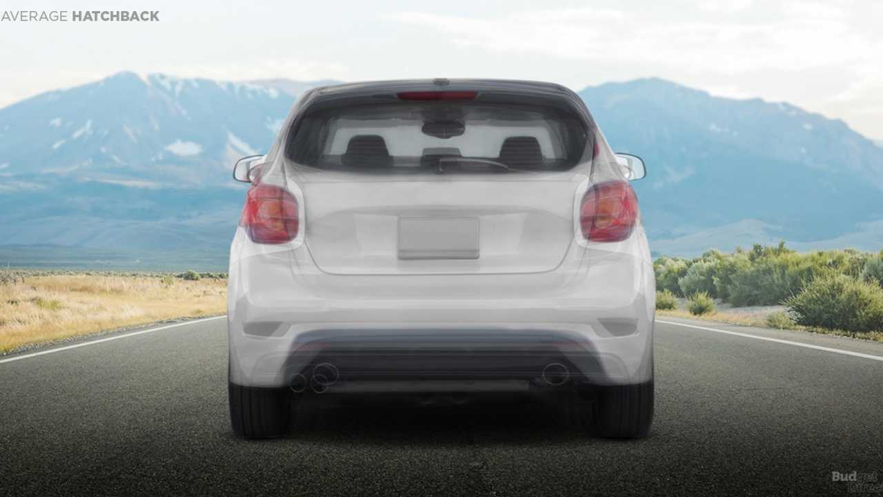 Average Hatchback Rear