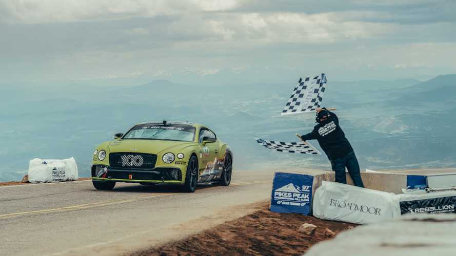 Bentley Continental GT Pikes Peak Rekoru