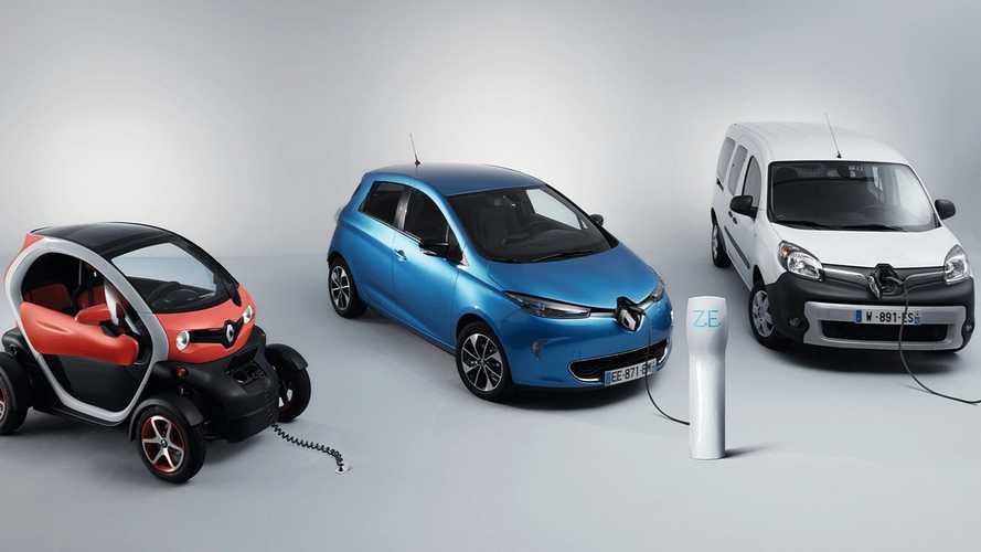 Renault punta sulle colonnine di ricarica on-demand