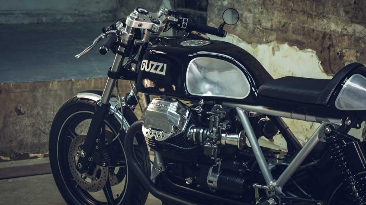 Moto Guzzi LeMans 1000 Side Port