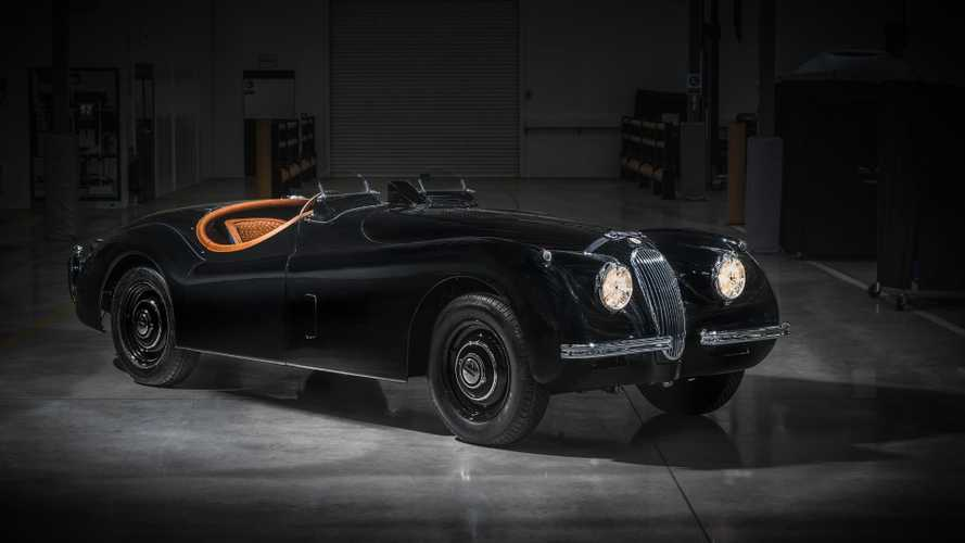 David Gandy Creates Bespoke Jaguar XK120