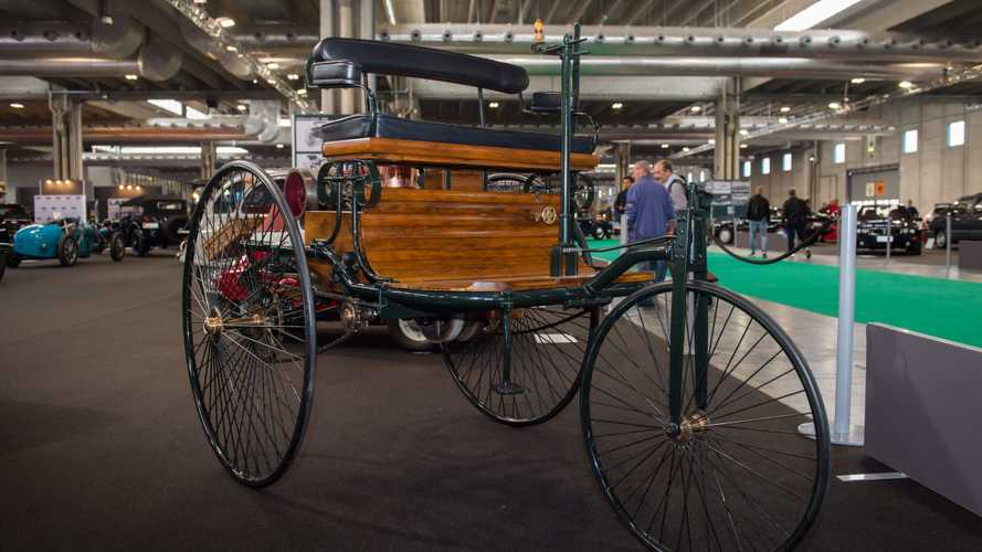 La prima automobile della storia, il Velociped Mercedes