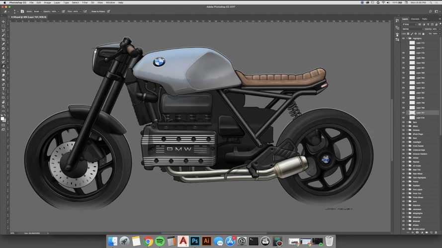 Watch This K100 Street Tracker Get Designed Before Your Eyes
