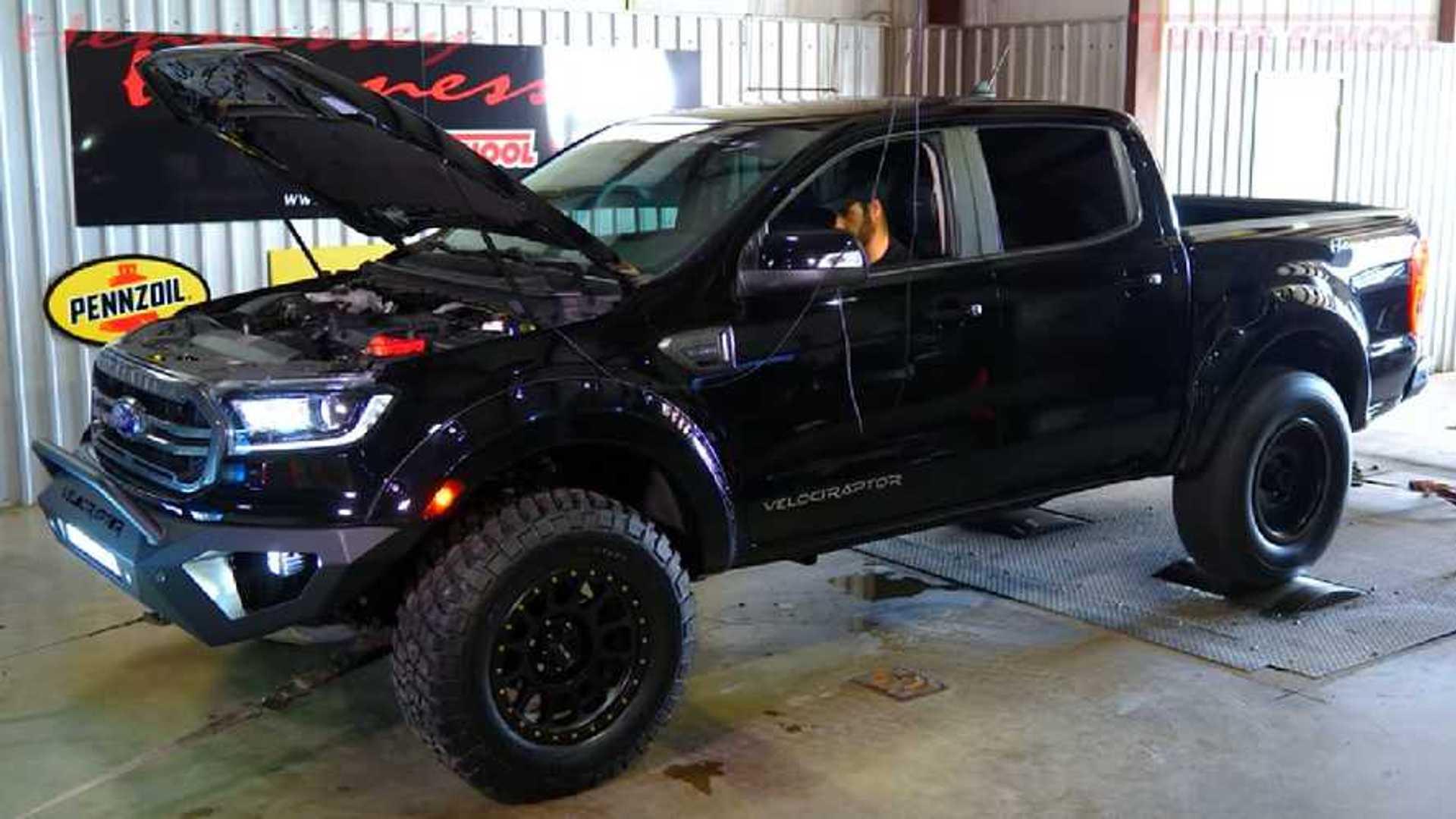 Hennessey Velociraptor Ford Ranger Hits The Dyno