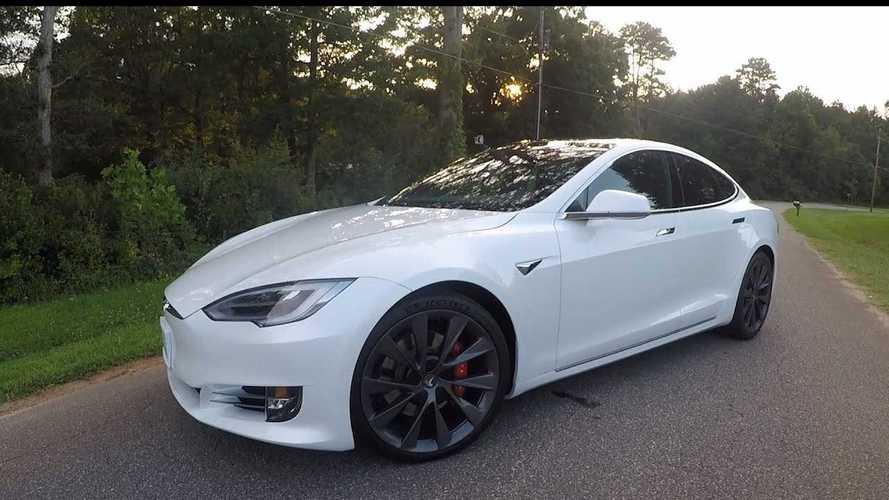 New Tesla Model S Raven VBOX Acceleration Tests: Video
