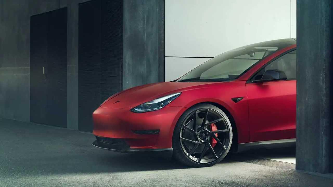 Tesla Model 3 Gets Sporty Attitude From Novitec