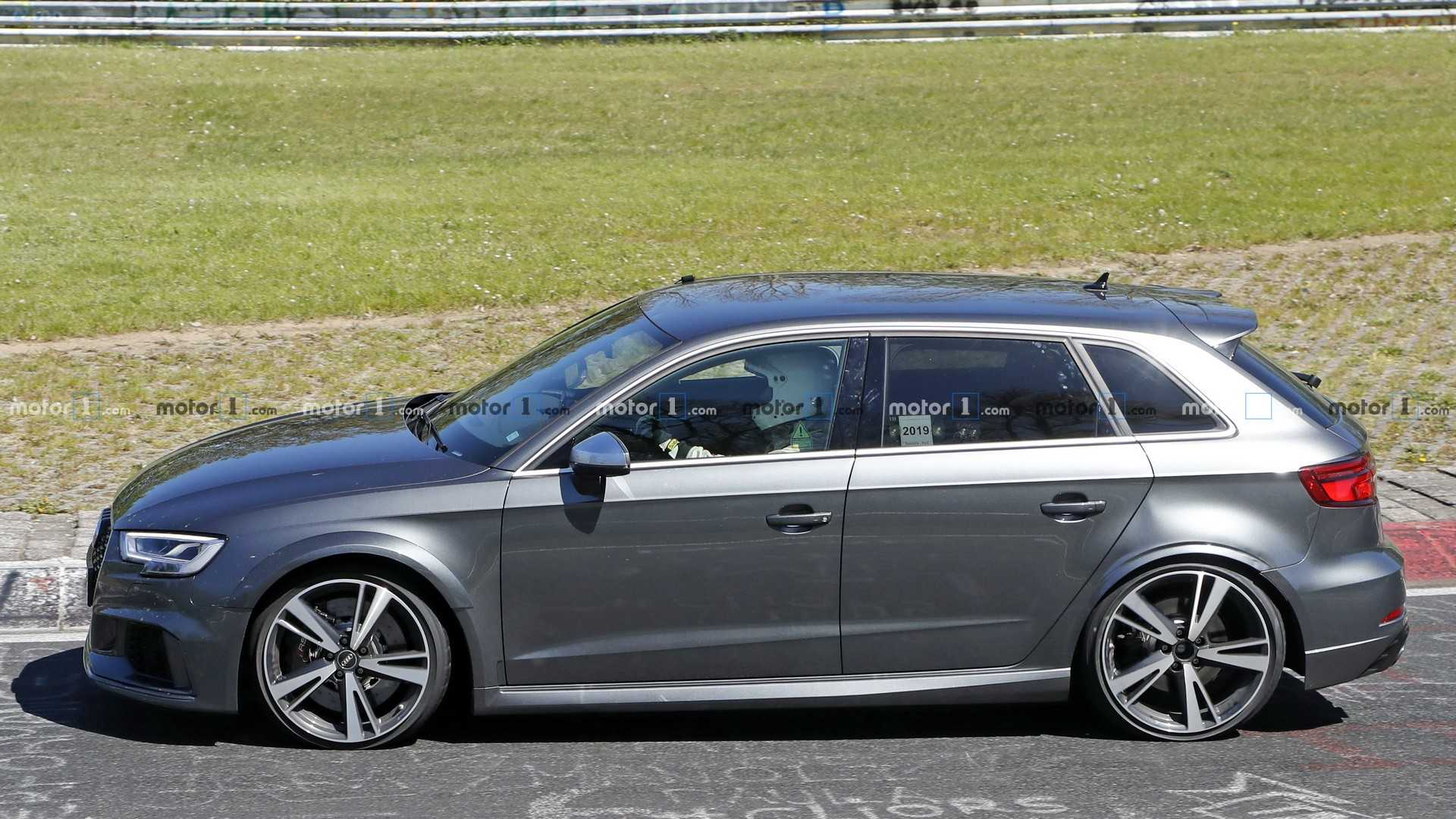 Next-Gen Audi RS3 Makes Spy Photo Debut At Nurburgring