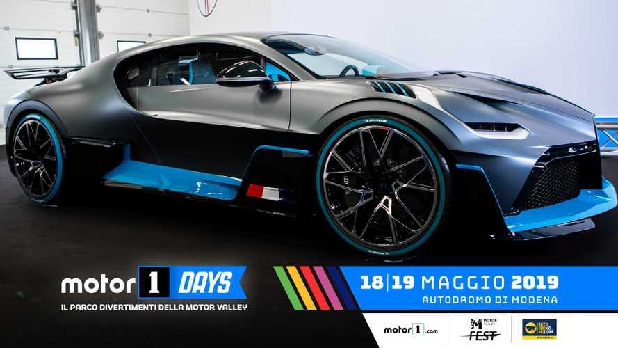 На фестивале Motor1 Days появился Bugatti Divo