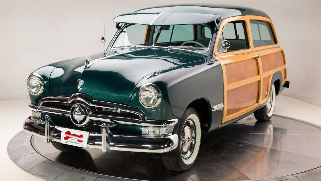 1950 Ford Custom Deluxe Country Squire Woody Wagon Promises To Put A Smile On Your Face