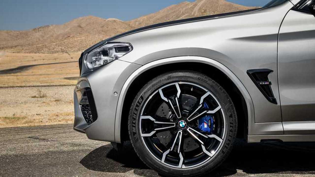 BMW X3 M ve X4 M Michelin Pilot Sport 4S