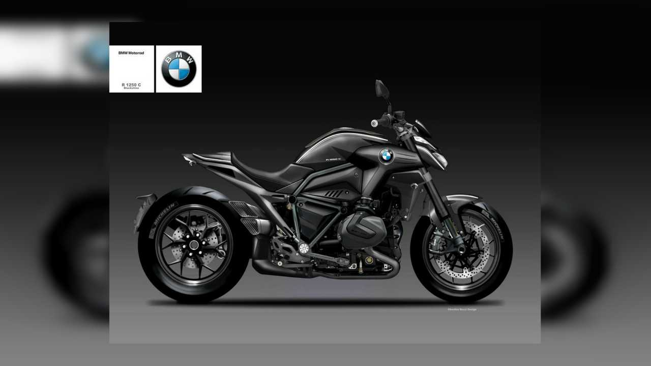 BMW R125C Blackshine