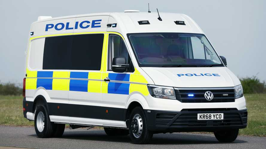 Volkswagen's new police 'riot' van conversion revealed