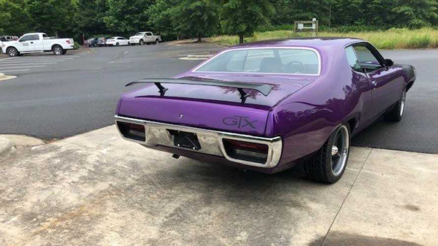 A Rare Restored 1971 Plymouth GTX 440 Is Ready For A New Owner