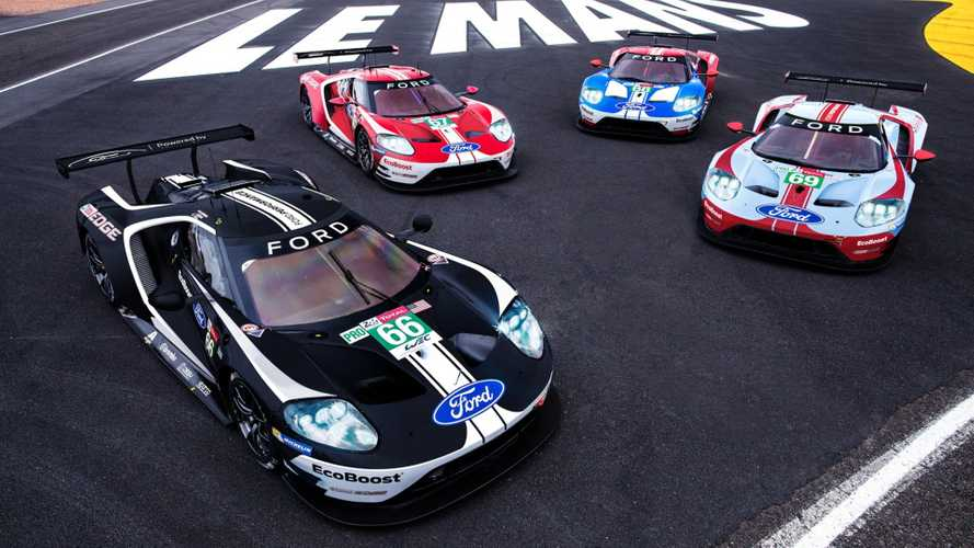 Historic Ford GT Le Mans 24 Hours Liveries Mark End Of An Era