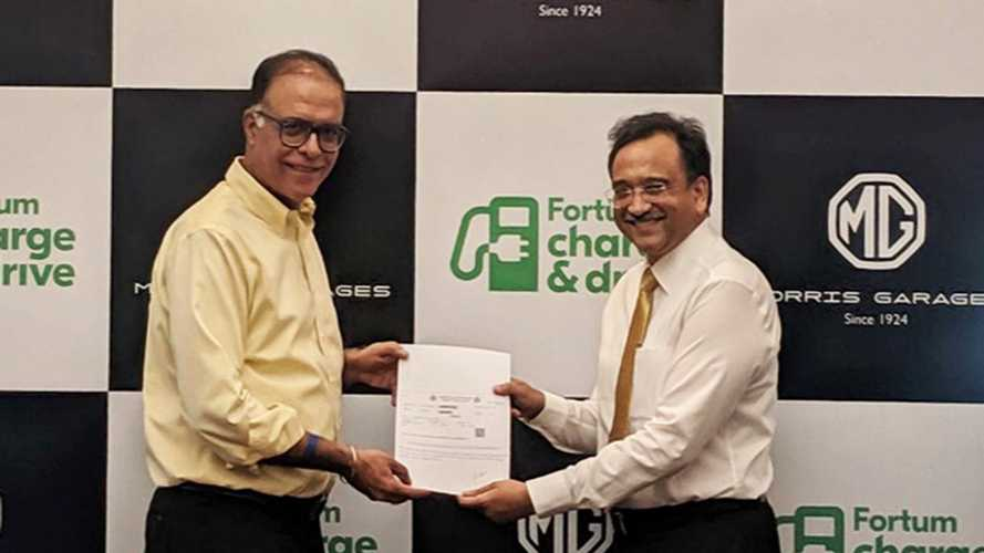 MG Joins Forces With Fortum In India To Build Charging Stations
