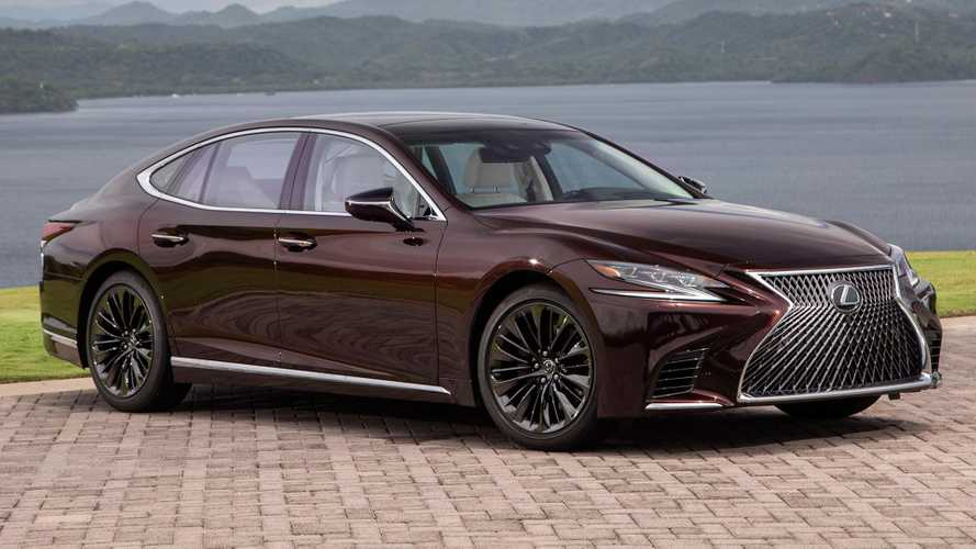 Lexus LS 500 Inspiration Series Debuts Looking Stylish In Garnet Paint