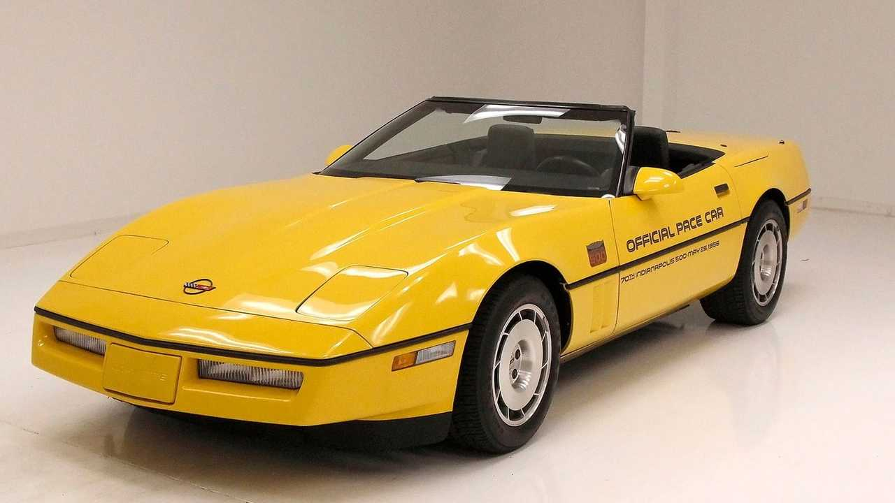 Own A Proper Yellow 1986 Chevrolet Corvette Indy Pace Car