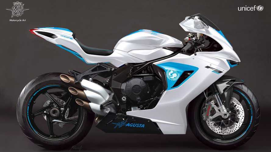 Special Edition MV Agusta F3 800 Raises $110k For Charity