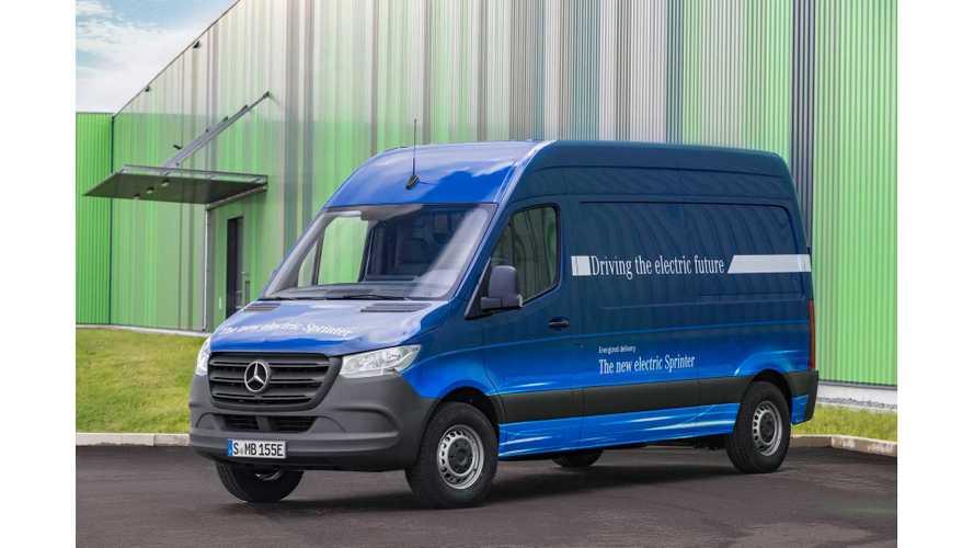 Mercedes Confirms 2019 Arrival of New eSprinter