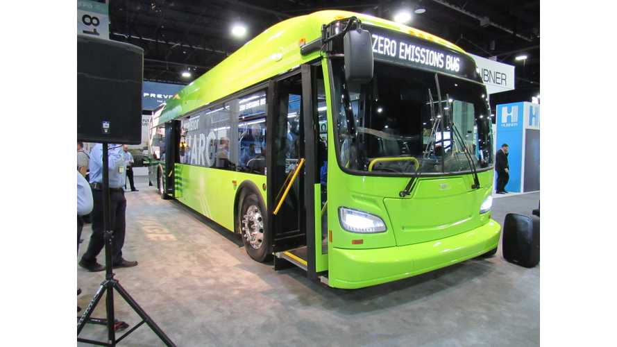 New Flyer Unveils New Xcelsior CHARGE Electric Bus With Up To 600 kWh Battery