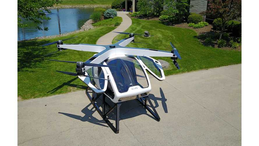 Workhorse Electric Octocopter - (w/video)