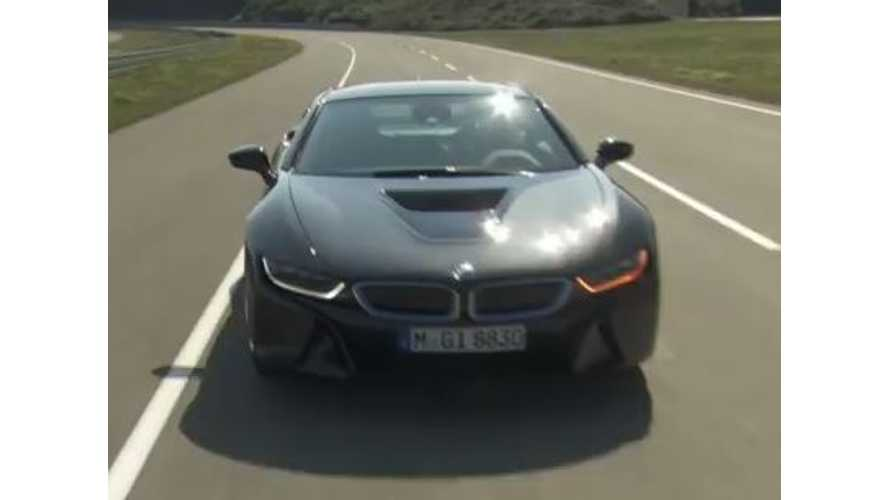 Motorweek First Look 2015 BMW i8 - Video