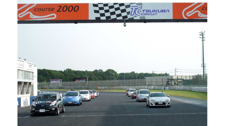Tesla Roadster Beaten In Second Round of 2014 Japan EV-GP Series By Toyota FT86 EV (w/video)