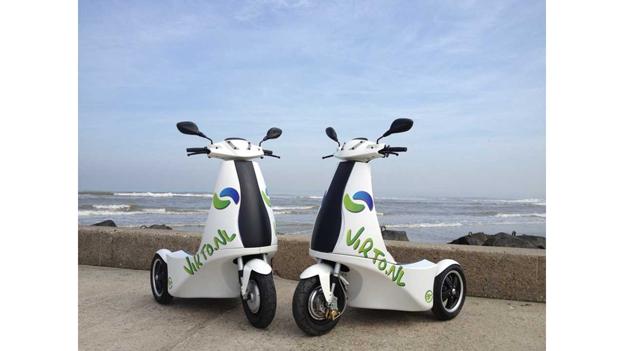 Virto Stand-Up Electric Trikes Approved For Use On European Roads - North American Certification Pending