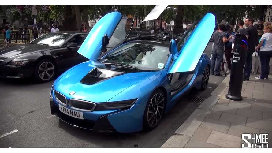 BMW i8 First Drive UK Review - Video