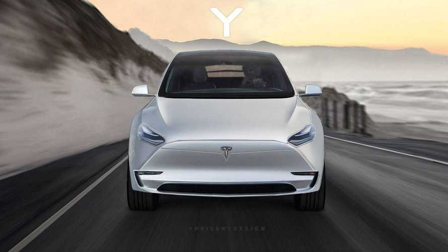 Tesla Model Y Comes Into View Thanks To New Render