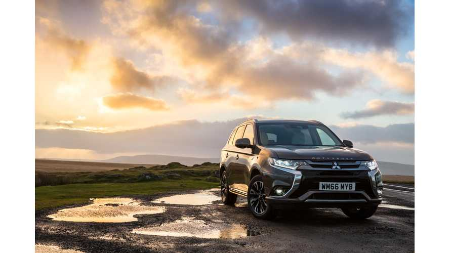 Mitsubishi UK Notes Record Used Outlander PHEV Sales