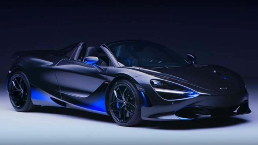 This McLaren 720S Spider took 260 hours to paint
