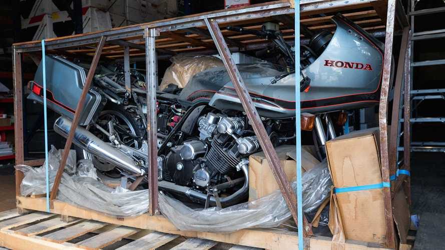 It's Back! The 1981 Honda CBX Shows Up At An Auction Once More