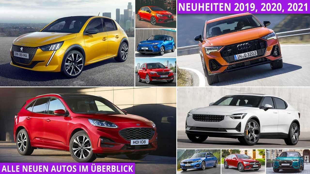 Neuheiten 2019 2020 Alle Neuen Autos Im Uberblick Update