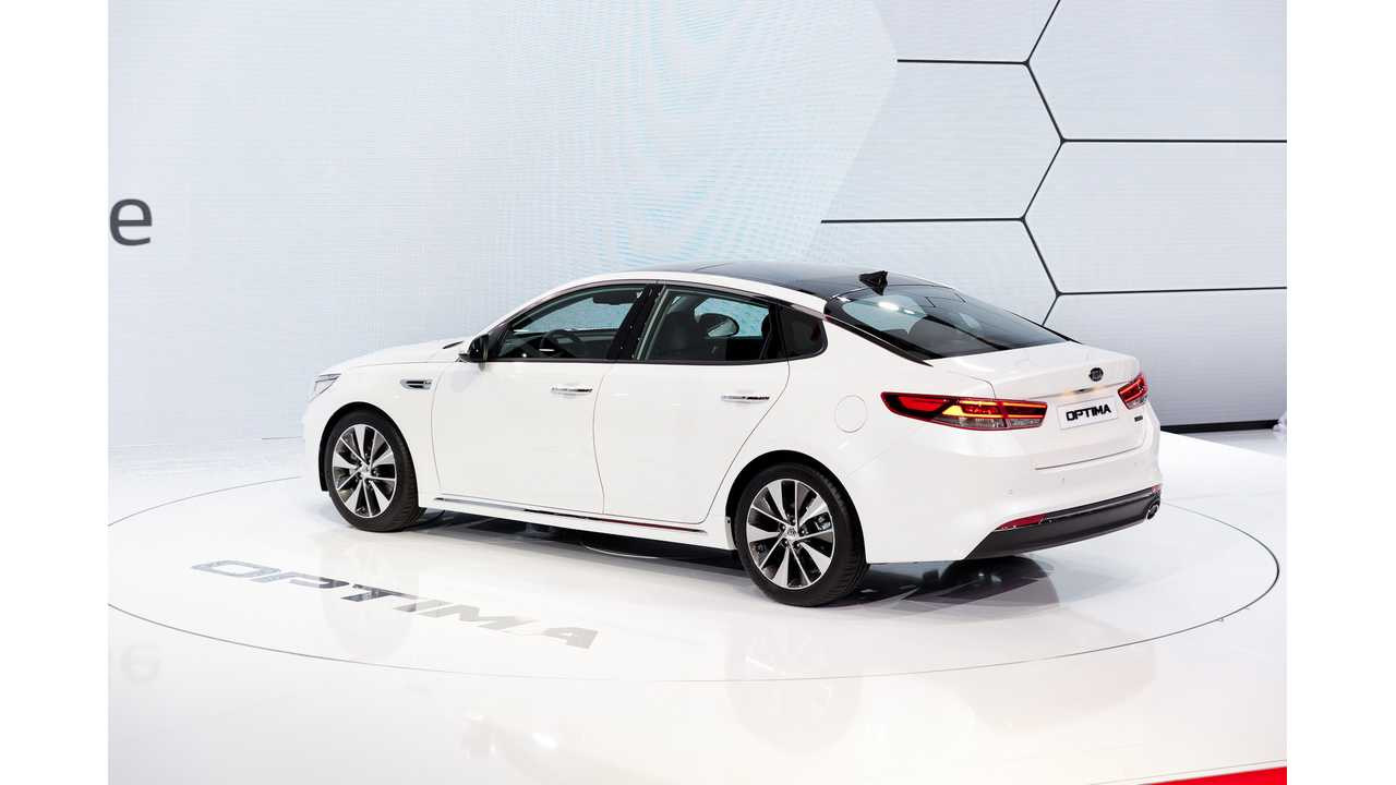 Kia Optima Plug-In Hybrid Confirmed