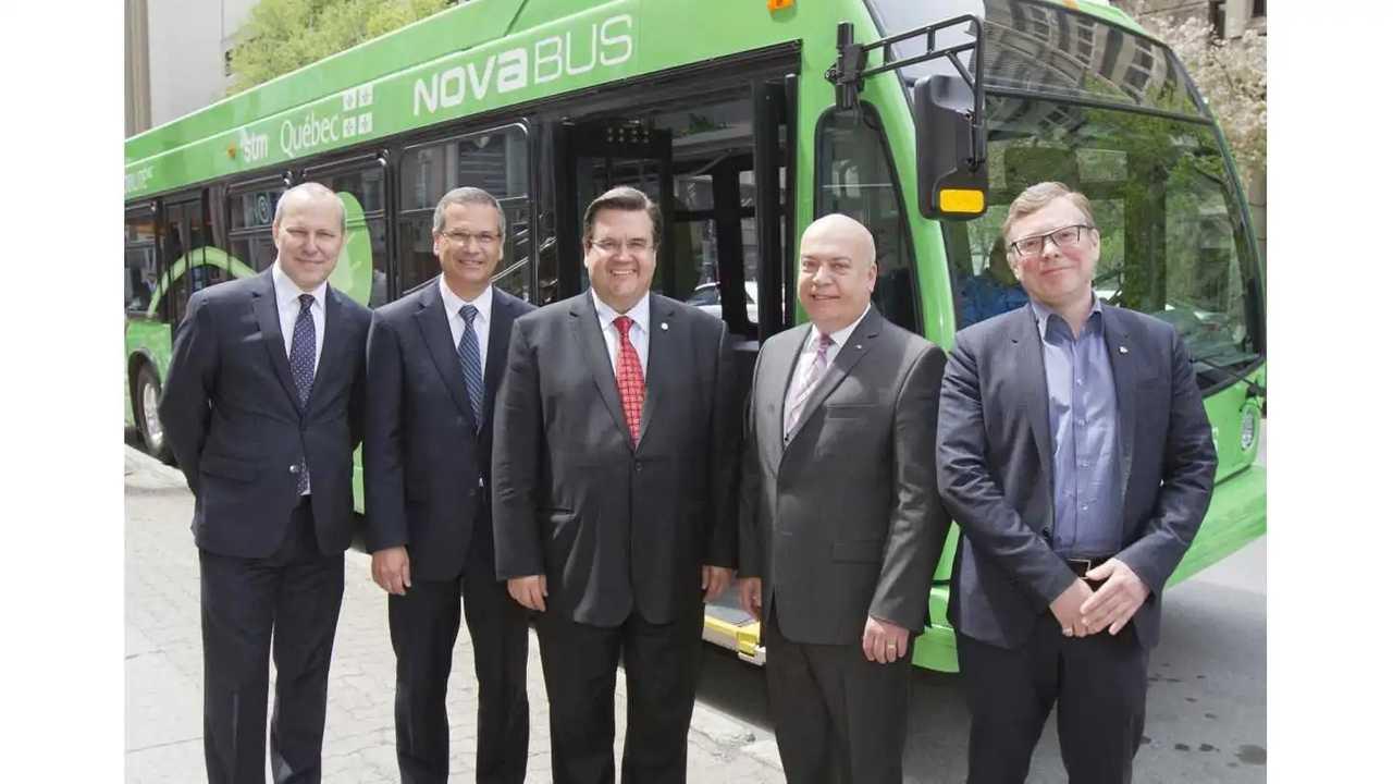 Meet Nova LFSe The 100% Electric Bus