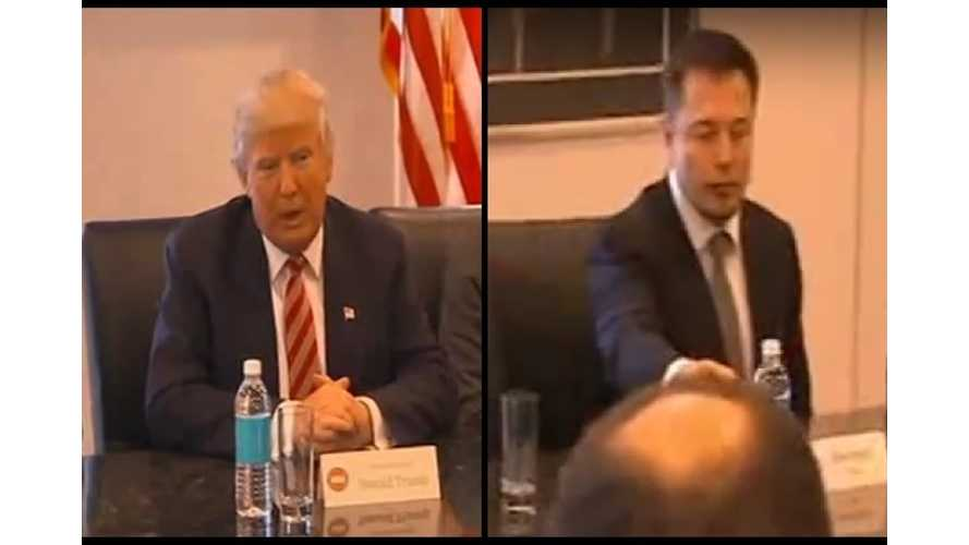 Watch Some Of Trump's Meeting With Elon Musk And Tech Titans (Result Update) - Video