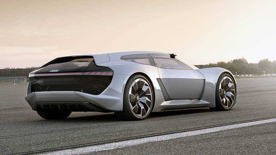 Audi PB18 E-Tron Concept Makes World Debut