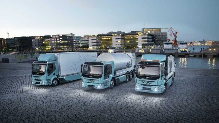 Volvo Delivered First Electric Trucks To Customers In Sweden