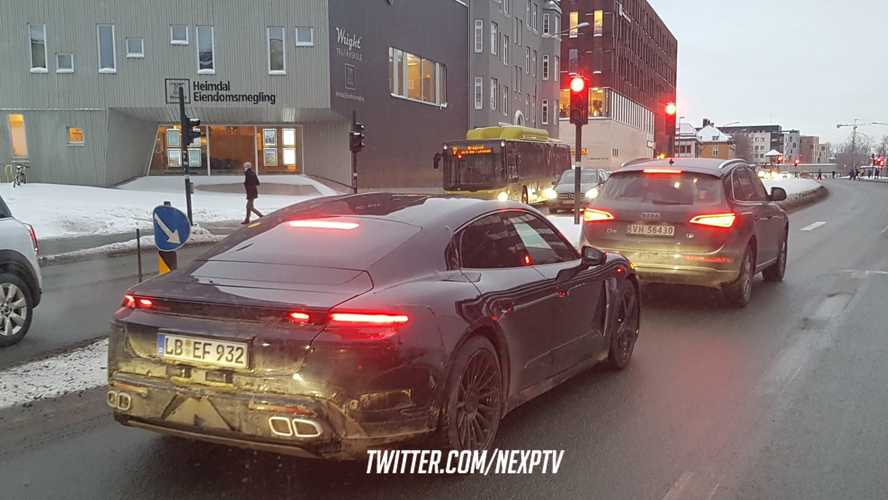 Porsche Taycan Spied Winter Testing In Norway