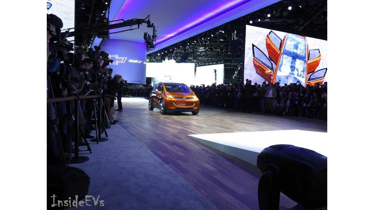 And Later, Following The 2016 Chevrolet Volt's Example The Bolt Concept EV Emerges