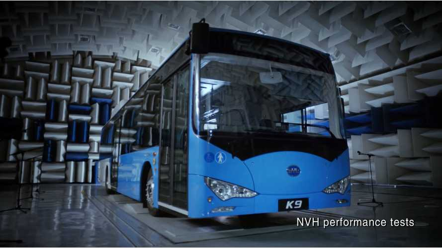 BYD Electric Bus Sales - 4,000 Per Year In China