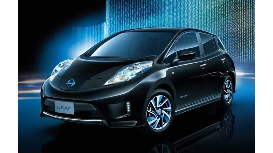In Japan, Nissan Offers 9 Color + Aero Trim With Better Performance for 2016 LEAF