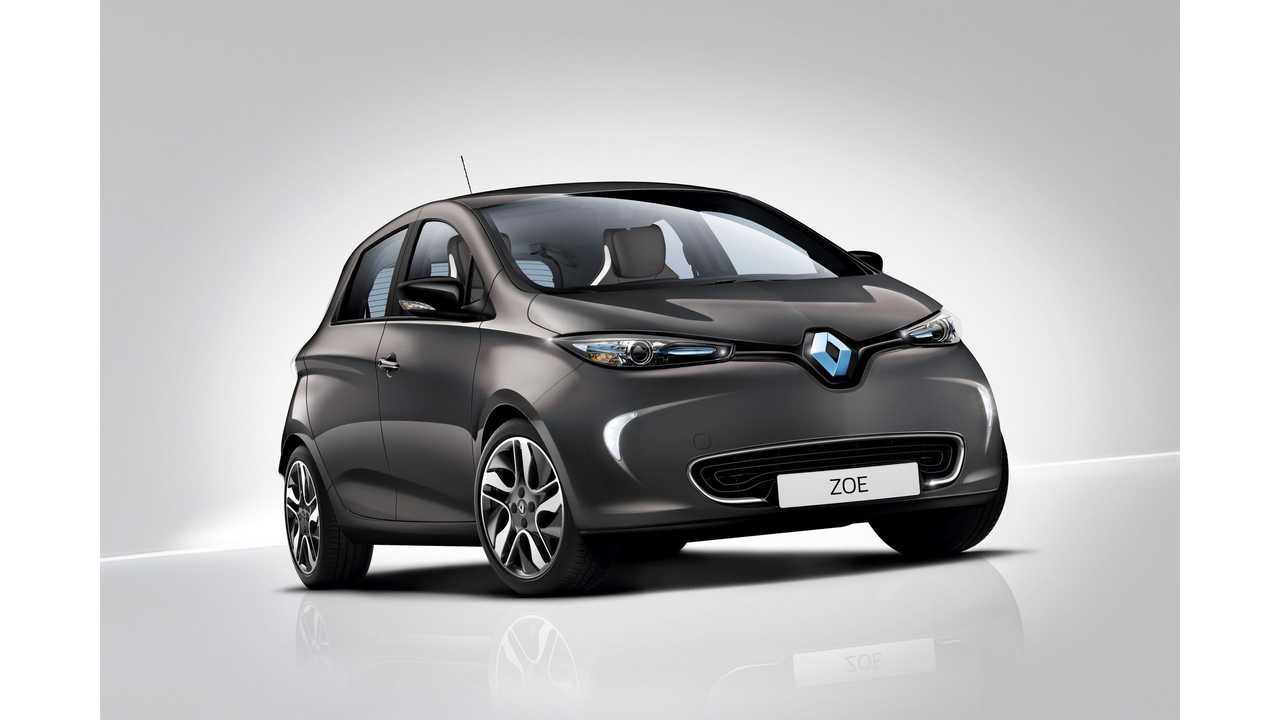 2016 Renault ZOE Swiss Edition (limited edition)