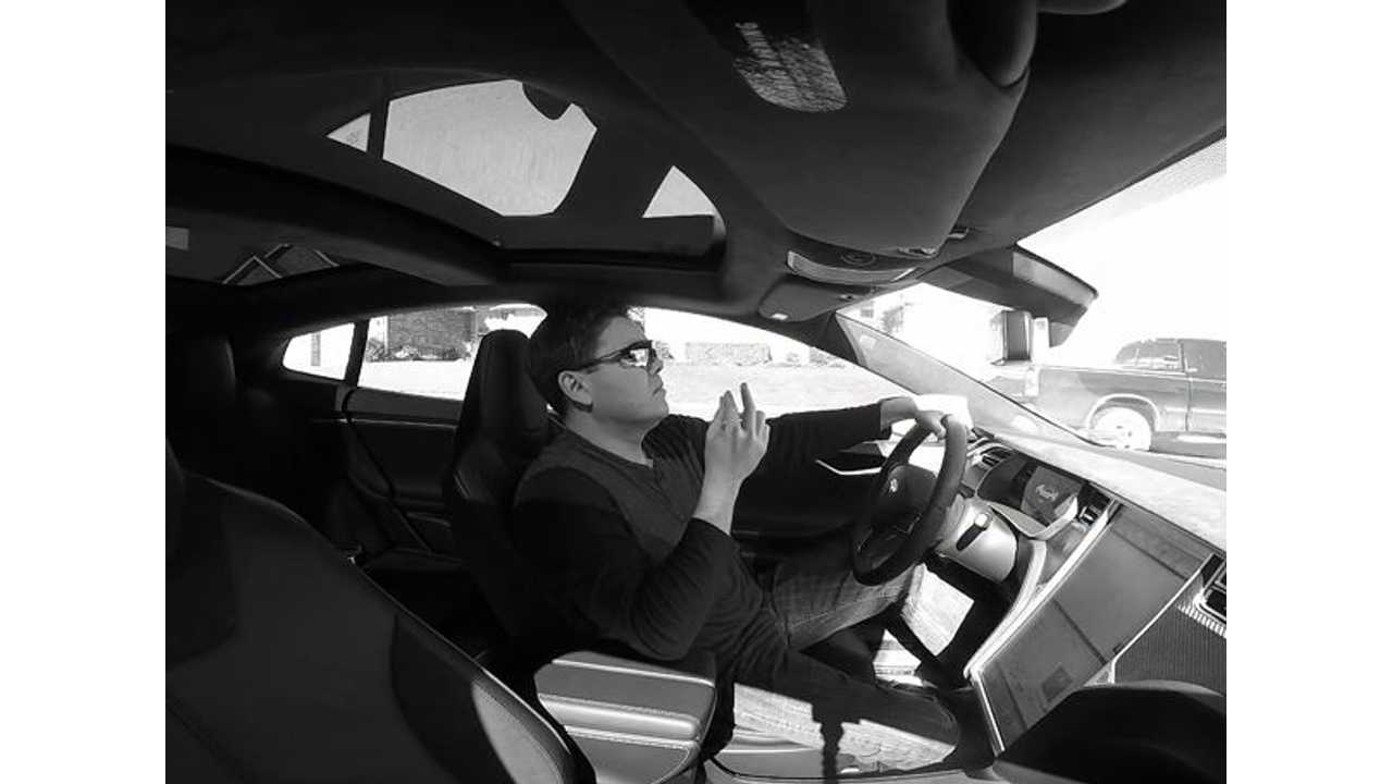 Tesla Model S P85D Owner Parodies Lincoln's MKC Matthew McConaughey Commercial - Video