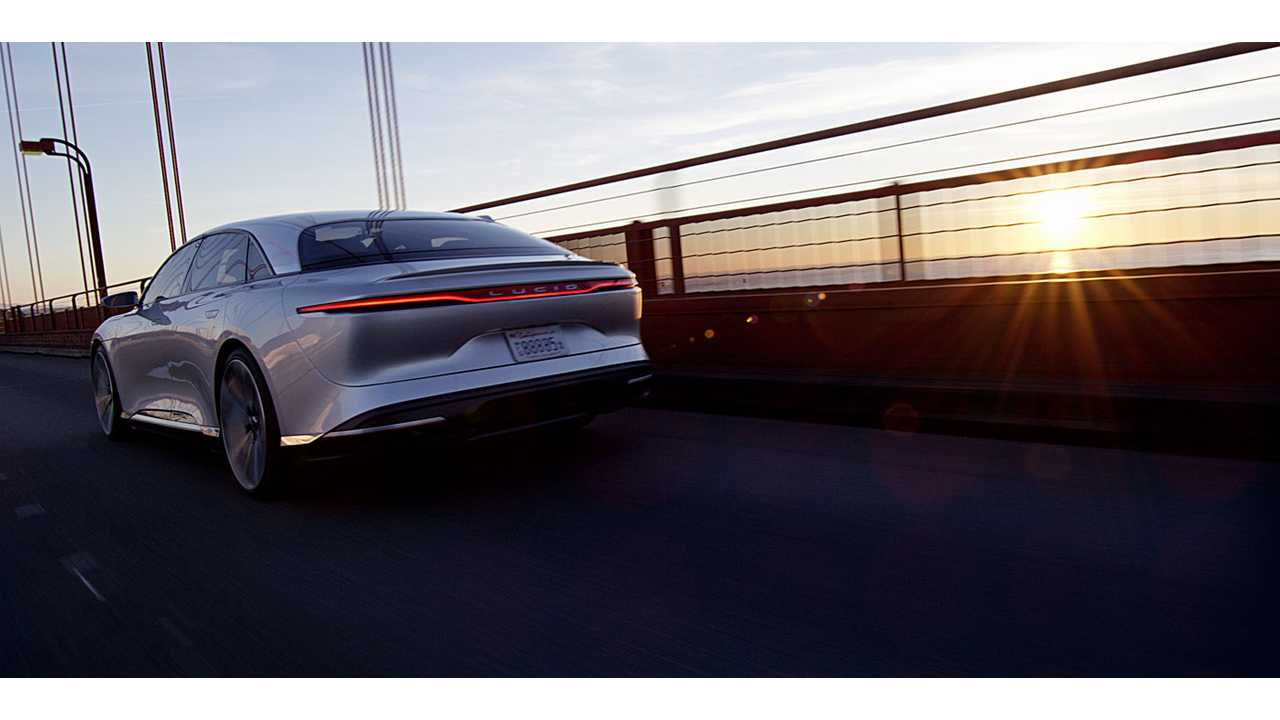 Cruising the San Francisco Bay Area in the All-Electric Lucid Air
