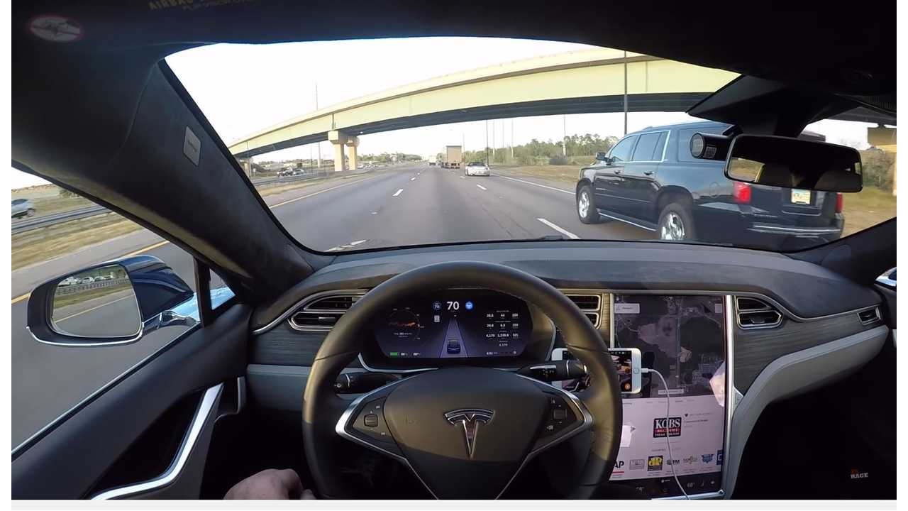 Tesla's Autopilot Is The Frontrunner In Vehicle Autonomy