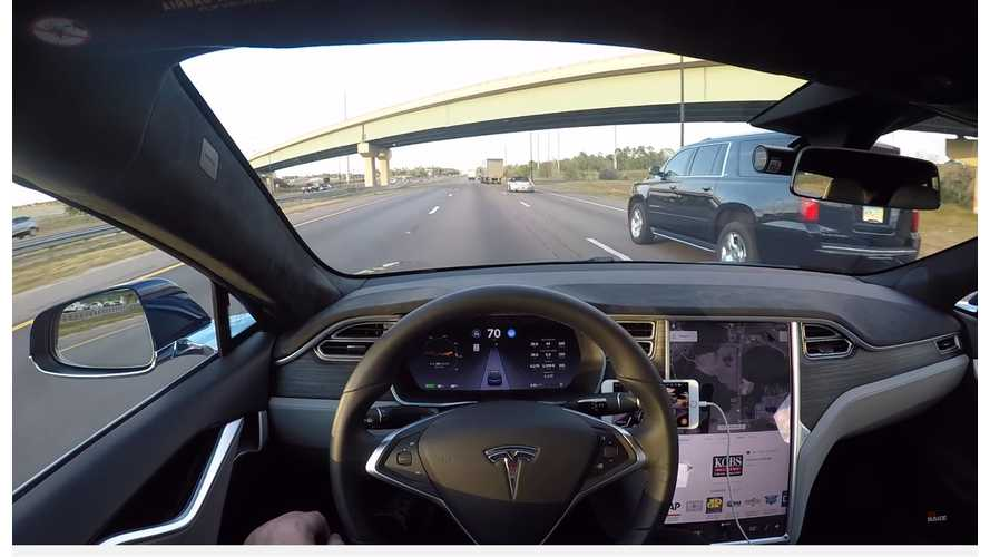 Tesla's Autopilot Is The Frontrunner In Vehicle Autonomy